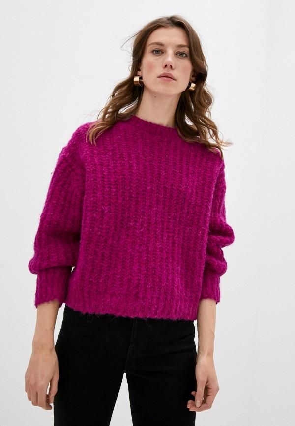 женский джемпер iro, фиолетовый