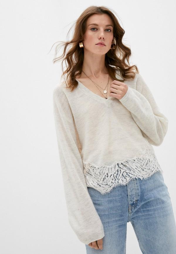 женский пуловер iro, белый