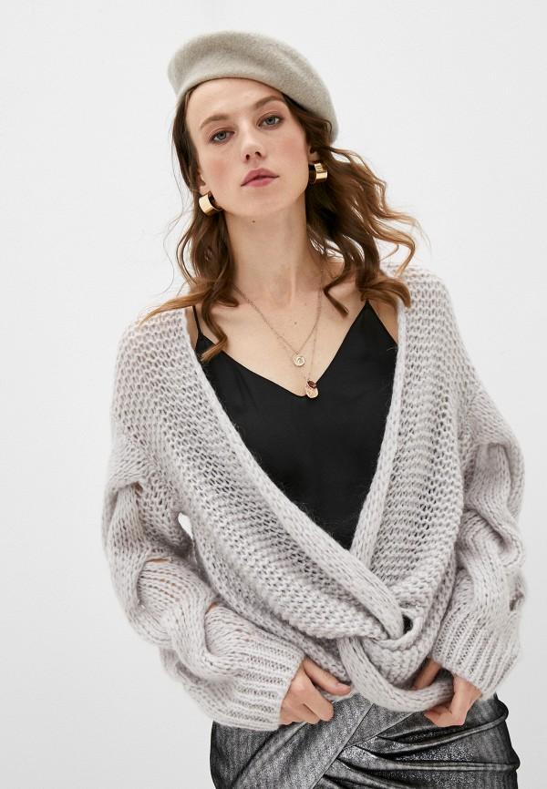 женский пуловер iro, серый