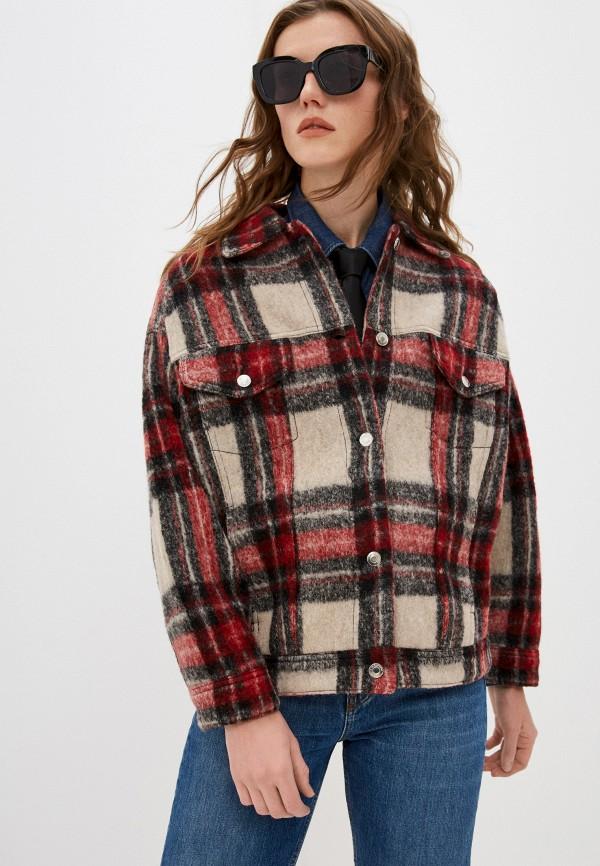 женская куртка iro, бежевая