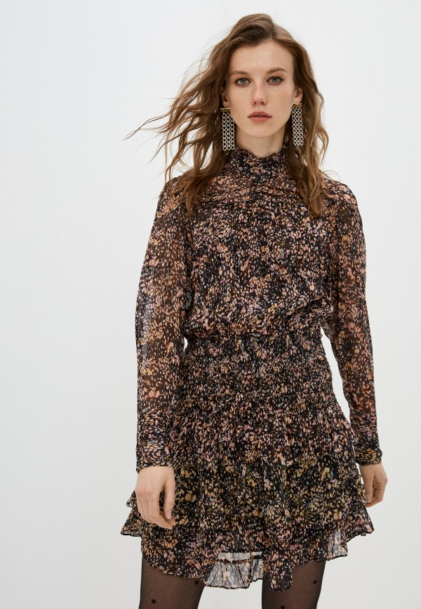 женское повседневные платье iro, коричневое