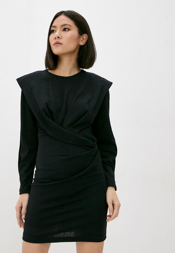 женское повседневные платье iro, черное