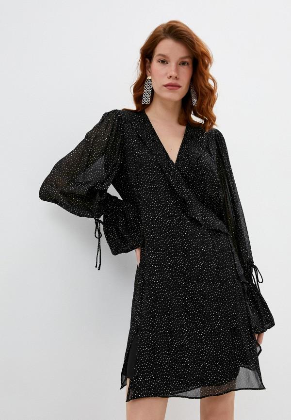 женское платье iro, черное