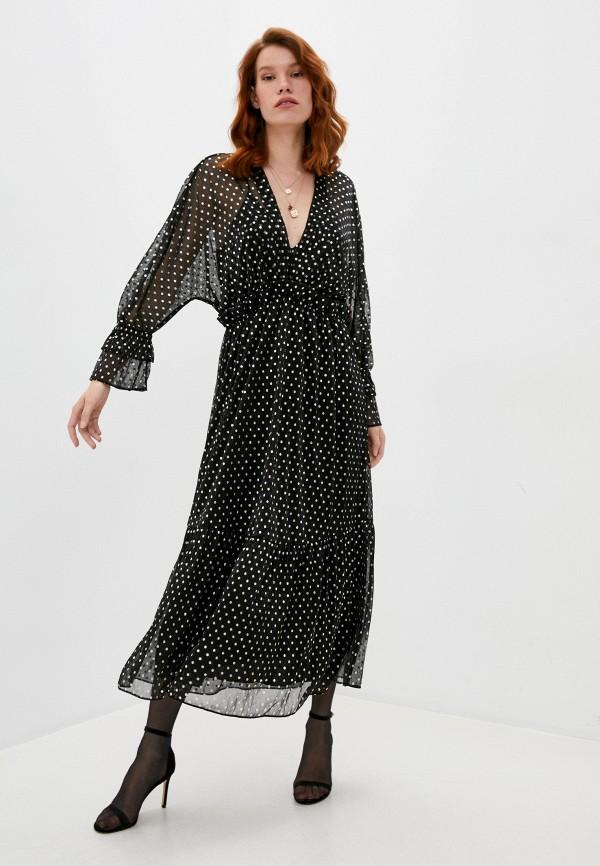 женское вечерние платье iro, черное