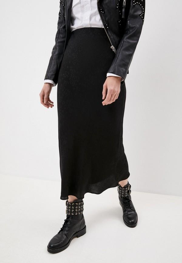женская прямые юбка iro, черная
