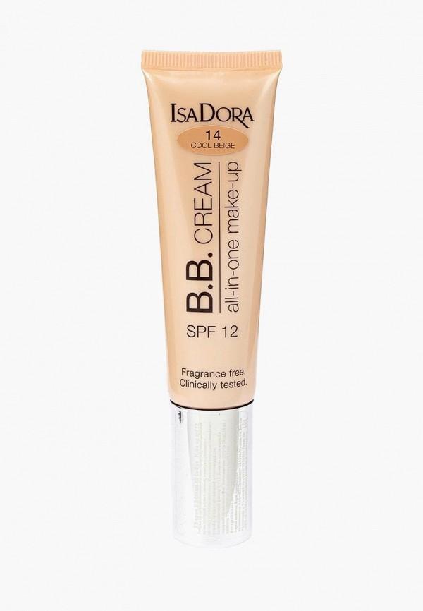 Купить BB-Крем Isadora, All-in-One make-up spf 12 14, 35 мл, IS006LWMSV57, бежевый, Осень-зима 2018/2019