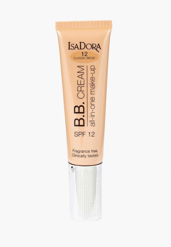 Купить BB-Крем Isadora, All-in-One make-up spf 12 12, 35 мл, IS006LWMSV58, бежевый, Осень-зима 2018/2019