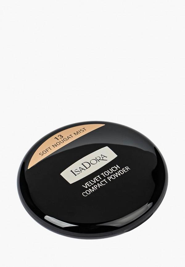 Пудра Isadora Isadora IS006LWMSV88 isadora isadora пудра компактная velvet touch compact powder 10 10 г