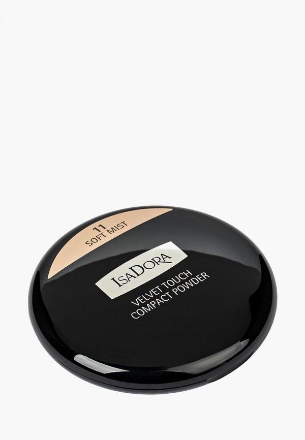 Пудра Isadora Isadora IS006LWMSV90 isadora isadora пудра компактная velvet touch compact powder 10 10 г