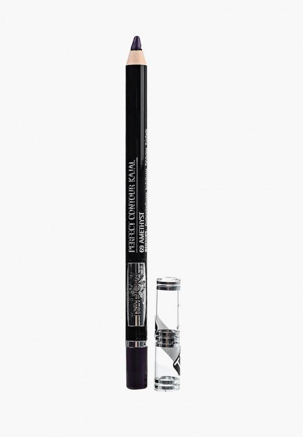 карандаш для глаз isadora, фиолетовый