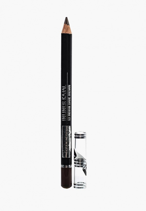 карандаш для глаз isadora, коричневый