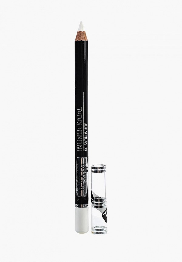 карандаш для глаз isadora, белый
