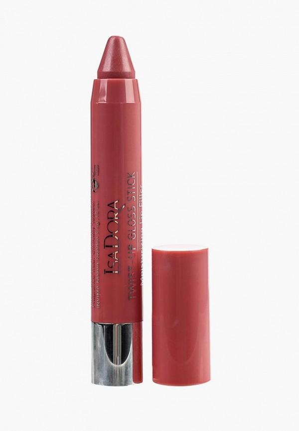 блеск для губ isadora, розовый