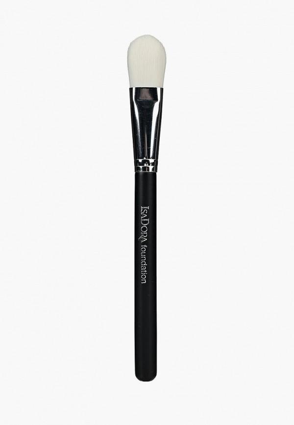 Купить Кисть для лица Isadora, для нанесения тонального крема Foundation Brush, is006lwmsw65, Весна-лето 2019