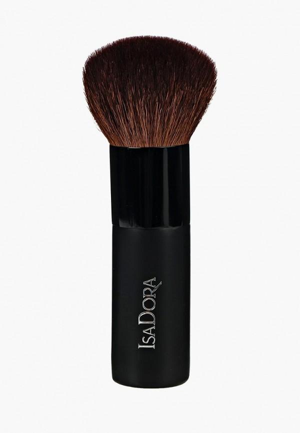 Кисть для лица Isadora, для бронзирующей пудры Bronzer Brush, is006lwmsw68, Весна-лето 2019  - купить со скидкой