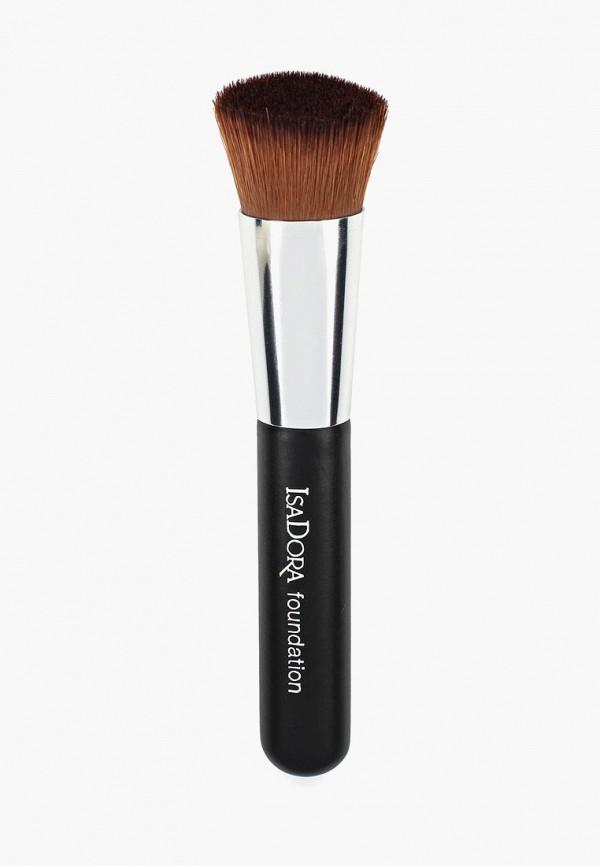 Купить Кисть для лица Isadora, для тонального крема и пудры Perfect Face Brush, is006lwmsw69, Весна-лето 2019