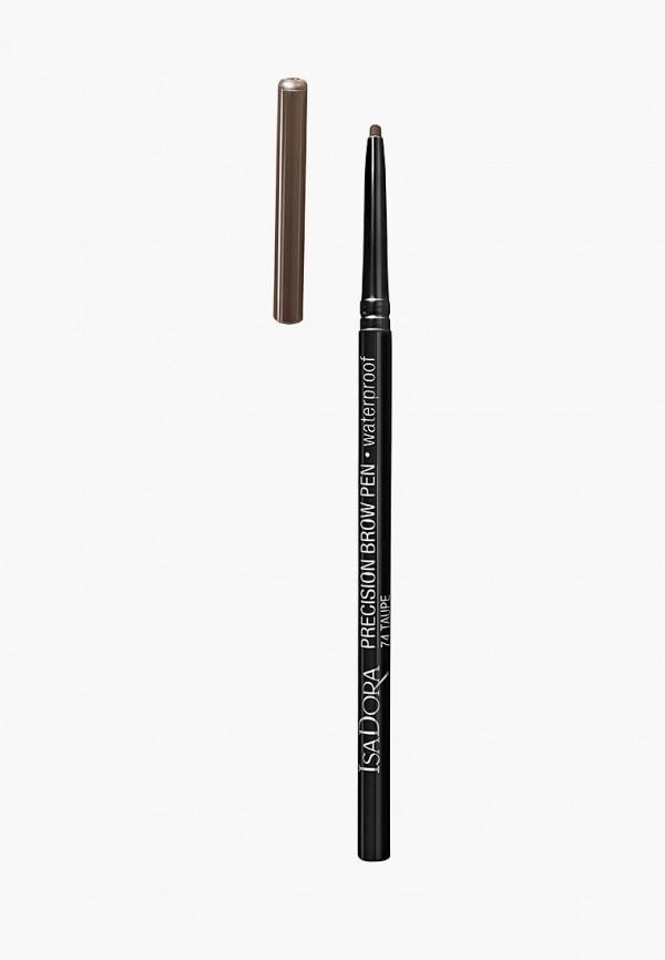 Карандаш для бровей Isadora Isadora IS007LWXYO54 isadora блеск карандаш twist up gloss stick 10 цвет 10 lovely lavender variant hex name d8a4b0