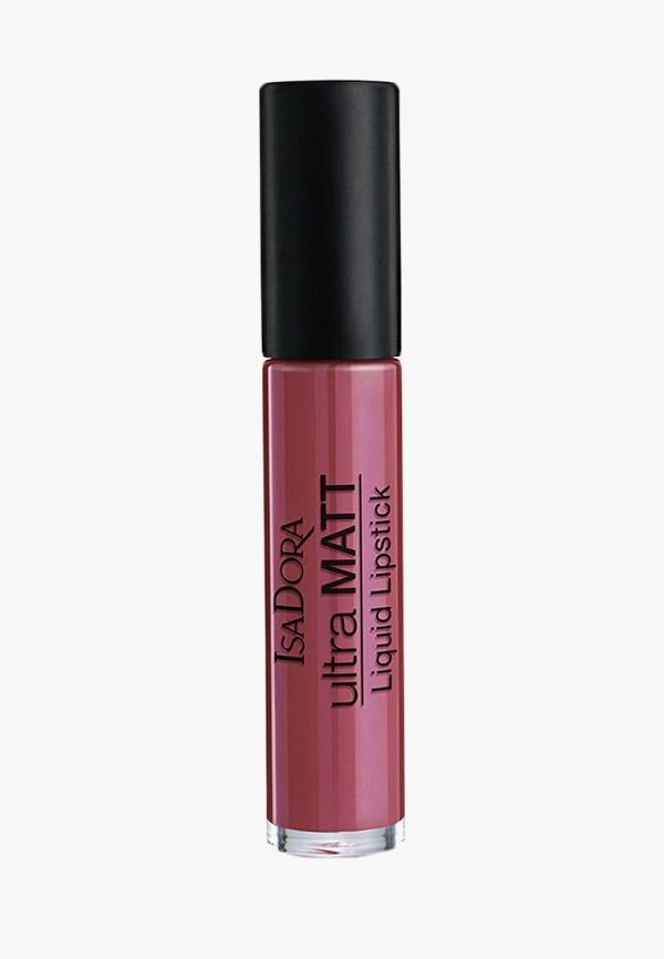 помада isadora, розовая