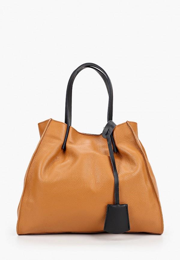 женская сумка isabella rhea, коричневая