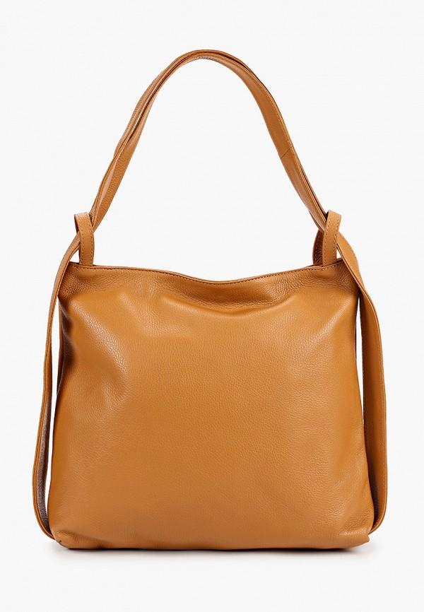 женский рюкзак isabella rhea, коричневый