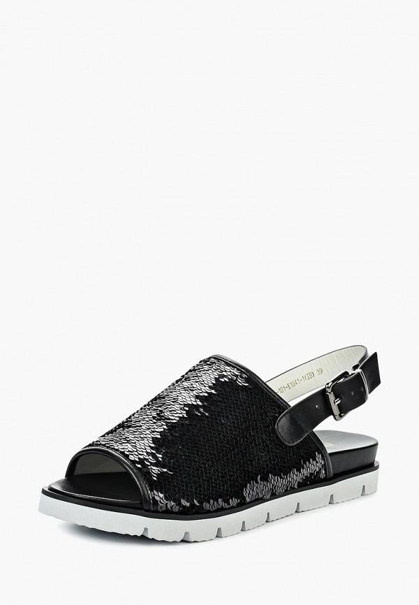 женские сандалии item black, черные