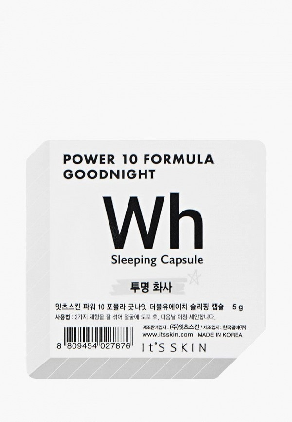 Купить Маска для лица It's Skin, Power 10 Formula Goodnight Sleeping, выравнивающая тон, 5г, it005lwyjl30, Весна-лето 2019