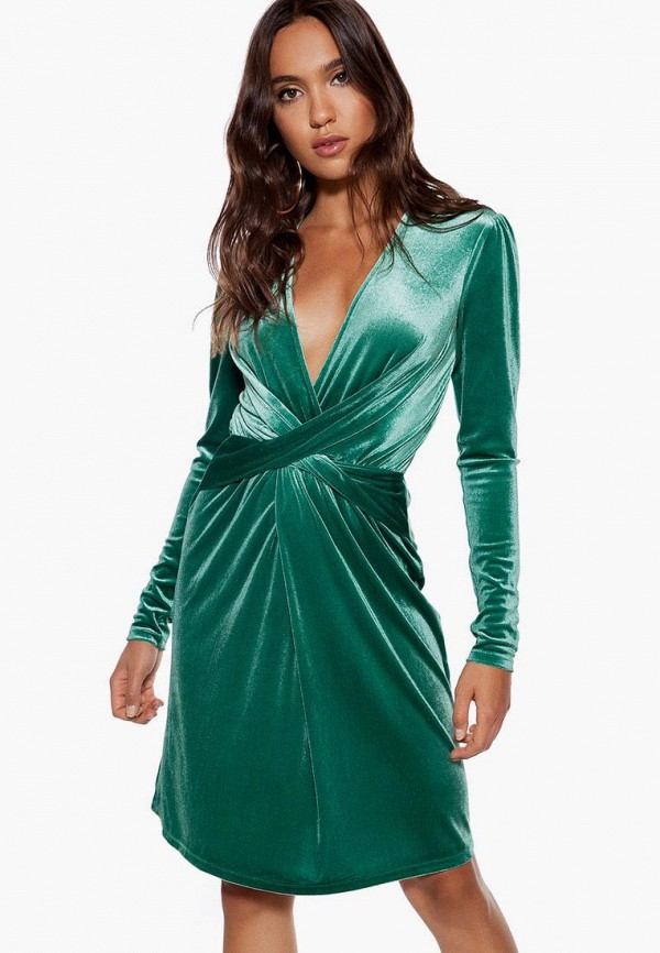 женское вечерние платье ivyrevel, зеленое