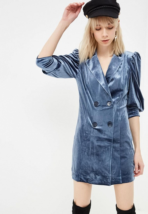 женское платье ivyrevel, синее