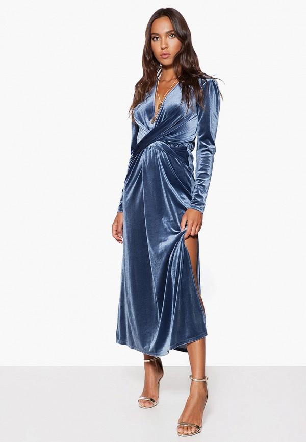 женское вечерние платье ivyrevel, синее