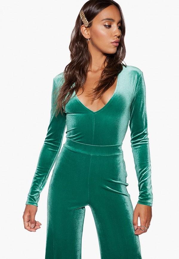 женские боди ivyrevel, зеленые