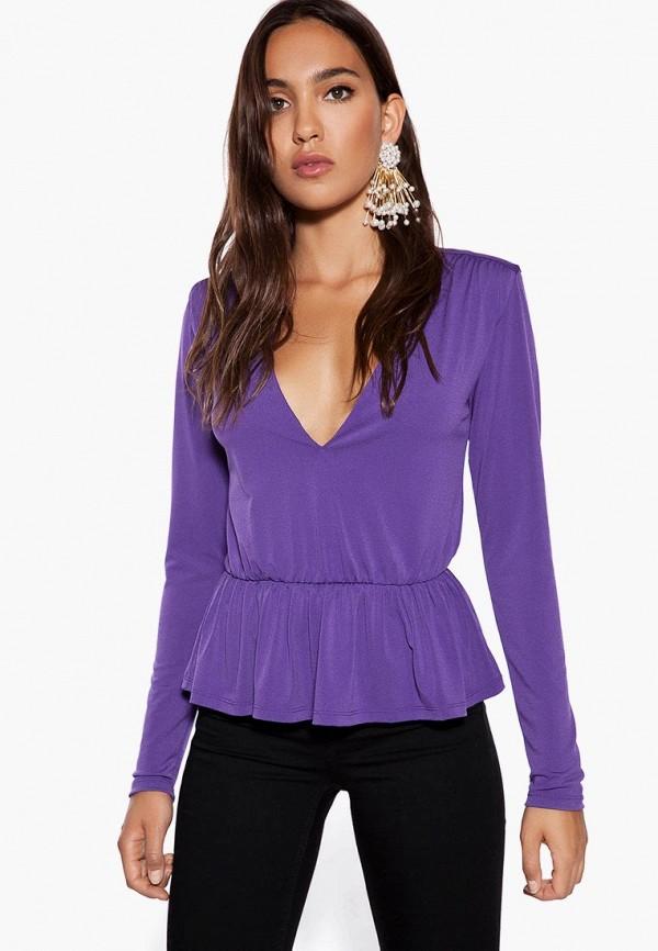 женская блузка ivyrevel, фиолетовая