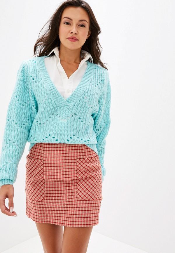 женский пуловер ivyrevel, бирюзовый