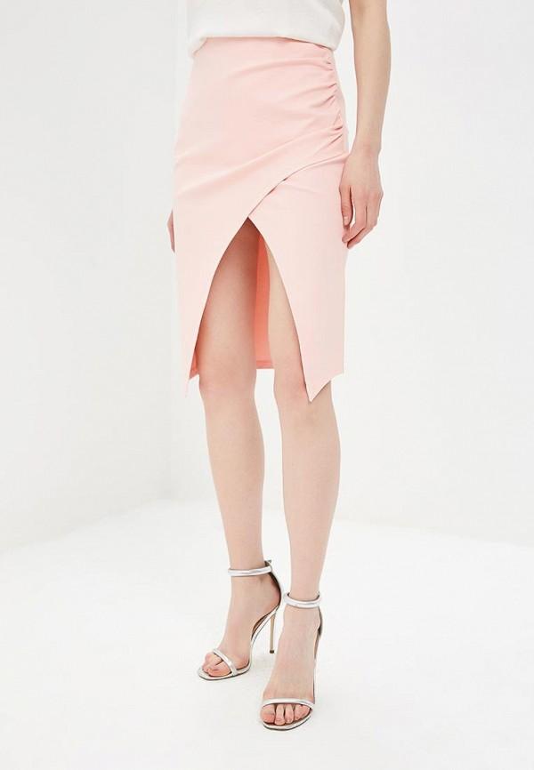 женская прямые юбка ivyrevel, розовая