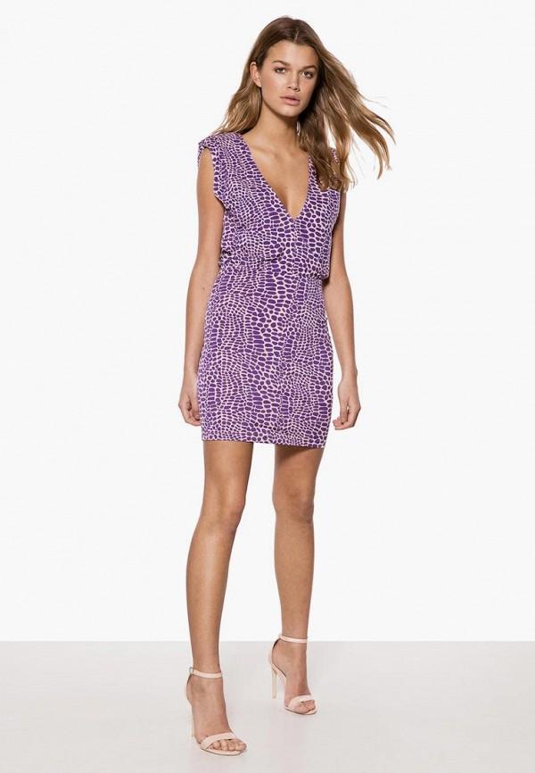 женское повседневные платье ivyrevel, фиолетовое