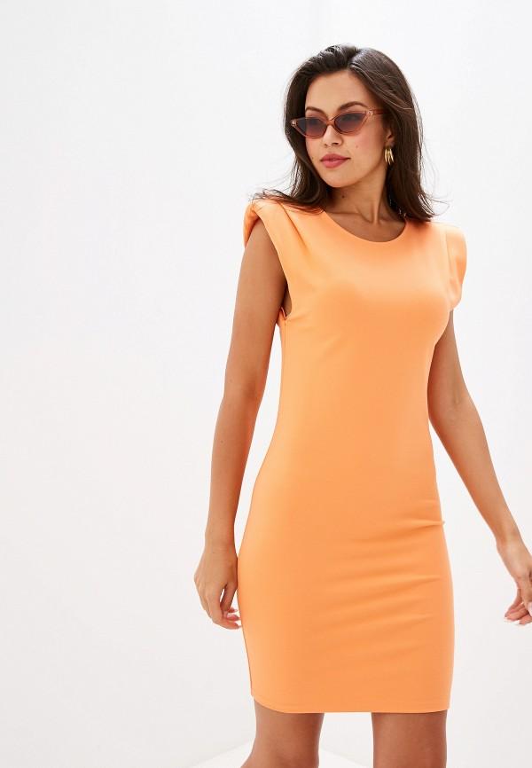 женское повседневные платье ivyrevel, оранжевое