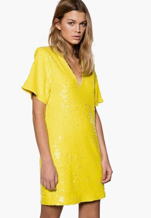 женское повседневные платье ivyrevel, желтое