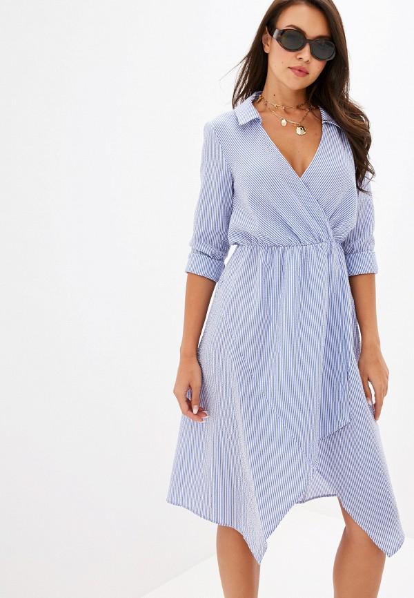 женское повседневные платье ivyrevel, голубое