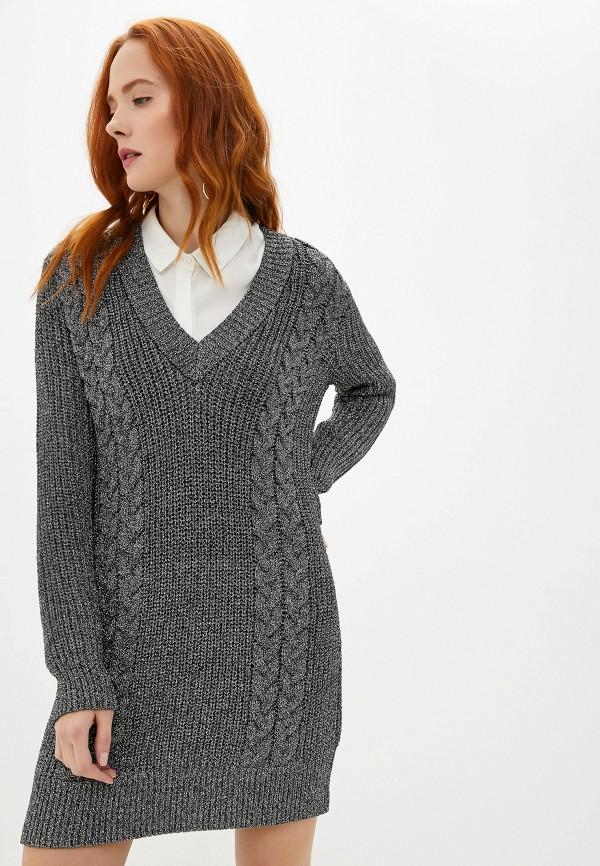 женское платье ivyrevel, серебряное
