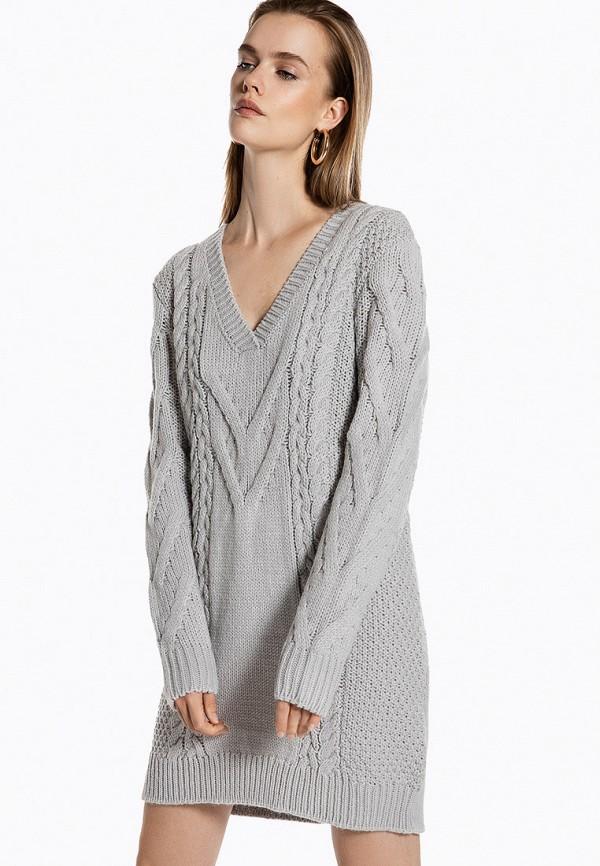 женское платье ivyrevel, серое