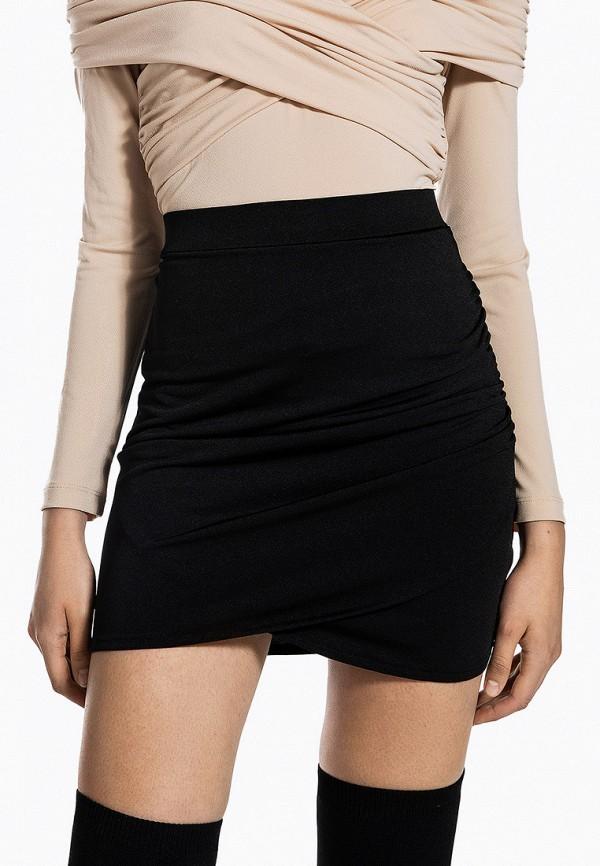 женская зауженные юбка ivyrevel, черная