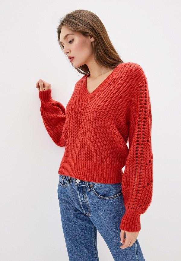 женский пуловер ivyrevel, красный