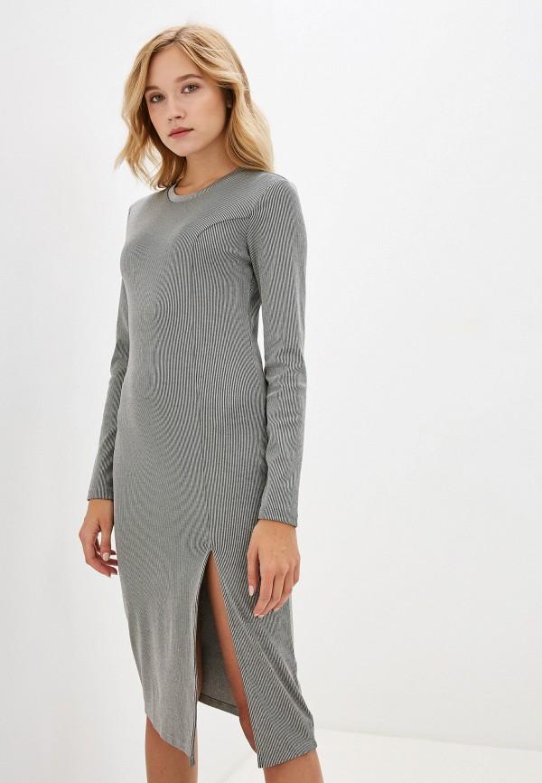 женское повседневные платье ivyrevel, серое
