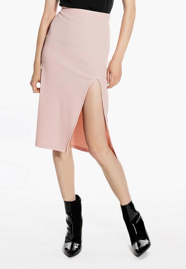 женская зауженные юбка ivyrevel, розовая