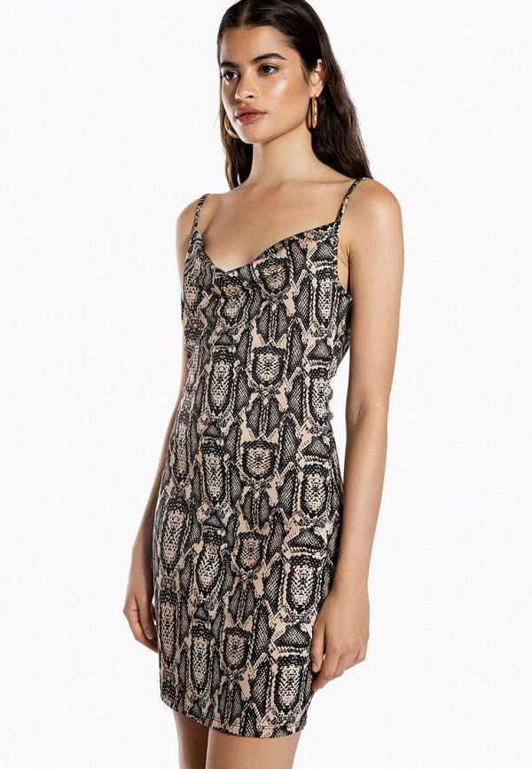женское платье ivyrevel, бежевое