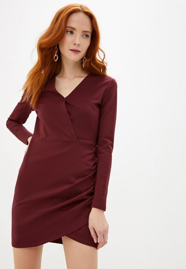 женское повседневные платье ivyrevel, бордовое
