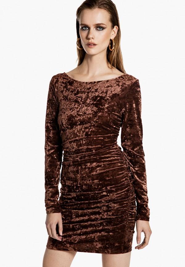 женское вечерние платье ivyrevel, коричневое