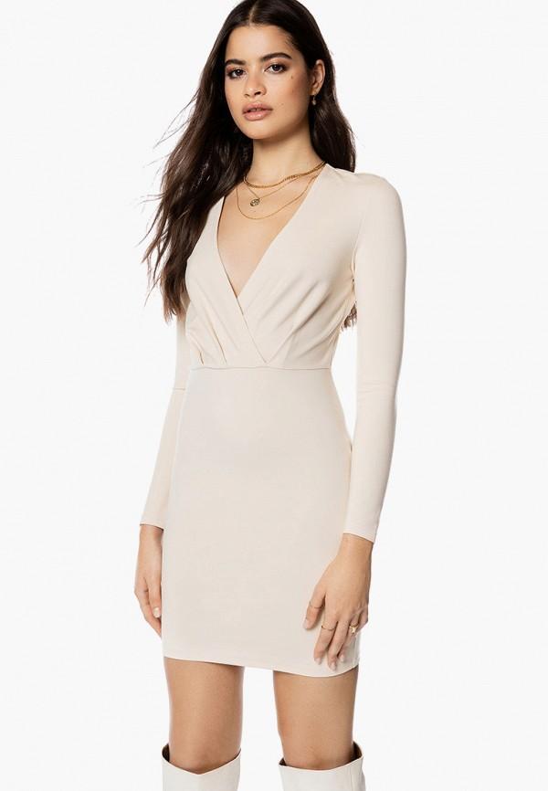 женское платье-футляр ivyrevel, бежевое
