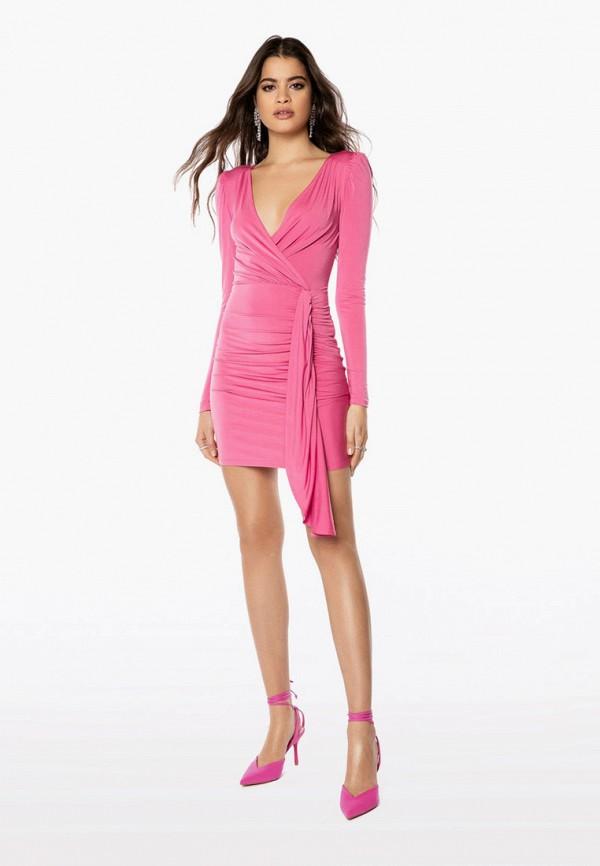 женское вечерние платье ivyrevel, розовое
