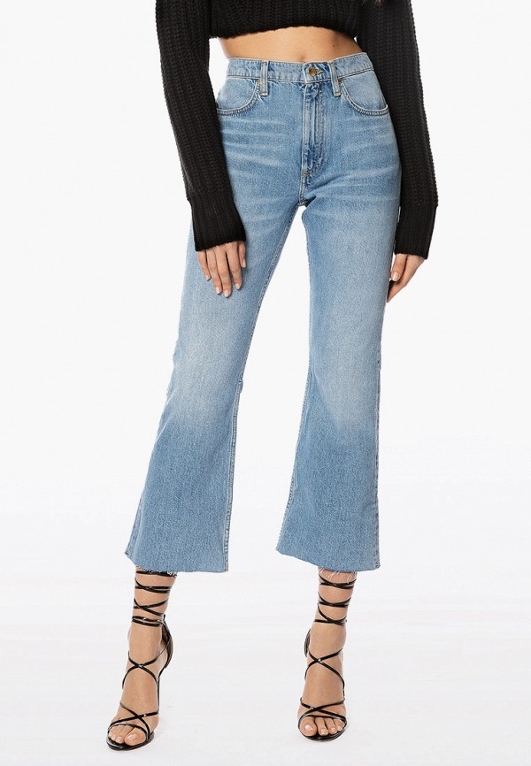женские джинсы клеш ivyrevel, голубые