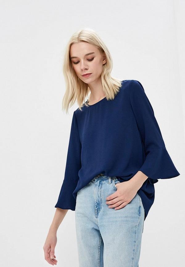 Купить Блуза Iwie, IW001EWBHZY2, синий, Весна-лето 2018